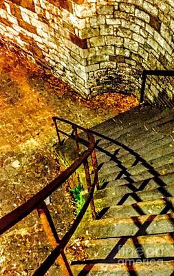 Photograph - Stairway Ll by Robin Lewis