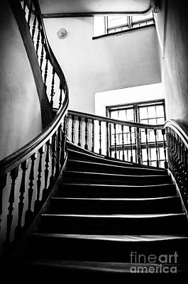 Photograph - Stairway Riga Latvia Bw by RicardMN Photography