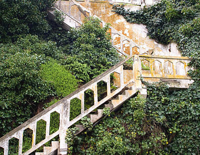 Stairway To Alcatraz Original by Elizabeth Reynders