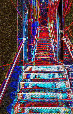Photograph - Stairway To Bliss by Phil Cardamone
