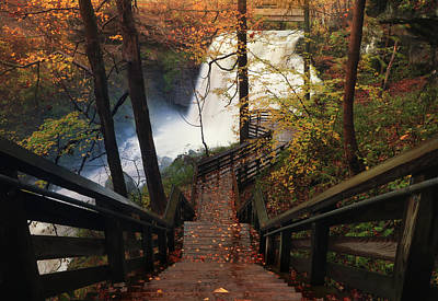 Photograph - Stairway To Brandywine by Rob Blair