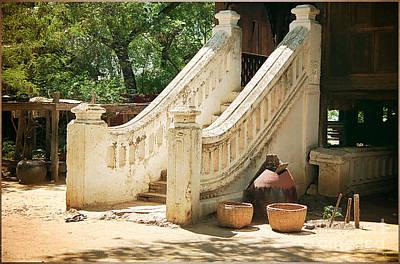 Photograph - Stairway To Buddhist Monastery by Gabriele Pomykaj