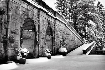 Winter Scenes Photograph - Stairway To Diana Goddess Of The Hunt by Carol R Montoya