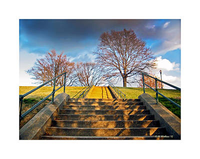 Stairway To Federal Hill Art Print by Brian Wallace