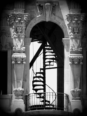 Stairway To Heaven Bw Art Print