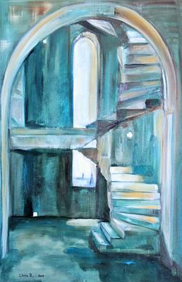 Painting - Stairway To Heaven by Christel Roelandt