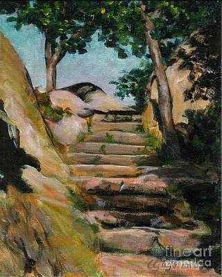 Painting - Stairway To Heaven by Claire Gagnon