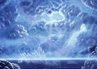 Stairway To Heaven H100 Art Print by Daniel Holeman