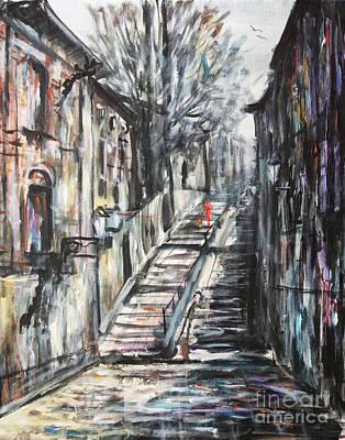 Painting - Stairway To Heaven by Dariusz Orszulik