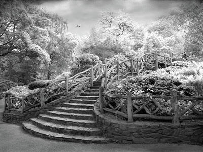 Photograph - Stairway To Heaven Infrared by Jessica Jenney