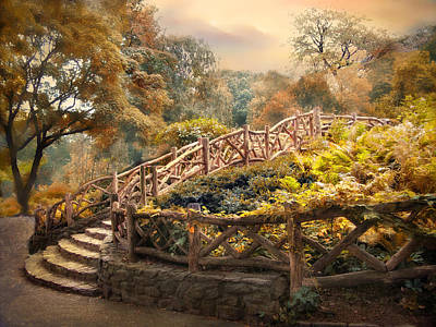 Fall Foliage New York Wall Art - Photograph - Stairway To Heaven by Jessica Jenney