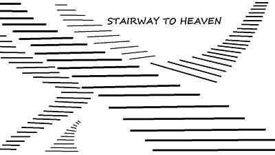 Digital Art - Stairway To Heaven by Linda Velasquez