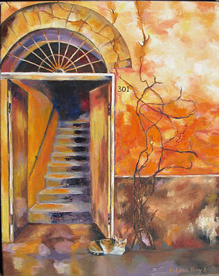 Painting - Stairway To Heaven by Lisa Boyd