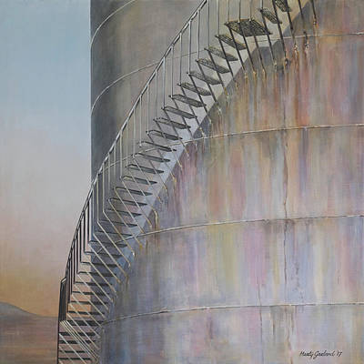 Painting - Stairway To Heaven by Marty Garland