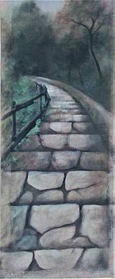 Painting - Stairway To Heaven by Suzn Art Memorial