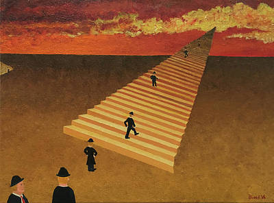 Painting - Stairway To Heaven by Thomas Blood
