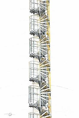 Stairway To Heaven Print by Torbjorn Swenelius