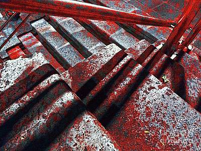 Photograph - Stairway To Hell by Al Bourassa