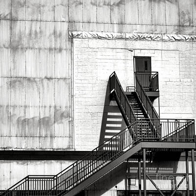 Factory Photograph - Stairway To Less Than Heaven  by Olivier Le Queinec