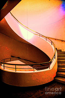 Photograph - Stairway To Light by Rick Bragan