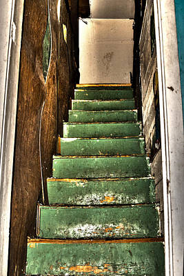 Photograph - Stairway To... by Melissa Newcomb