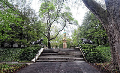Photograph - Stairway To Nassau Hall by Dave Mills