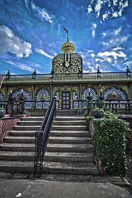 Photograph - Stairway To  New Vrindaban by Daniel Houghton