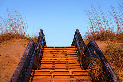 Photograph - Stairway To The Beach  by Michael Scott