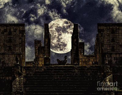 Photograph - Stairway To The Moon by Ken Frischkorn