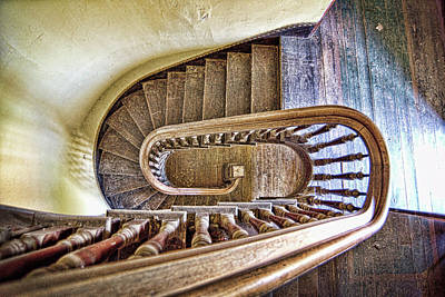 Photograph - Stairway To The Past / Stairway To The Future by Ron Weathers