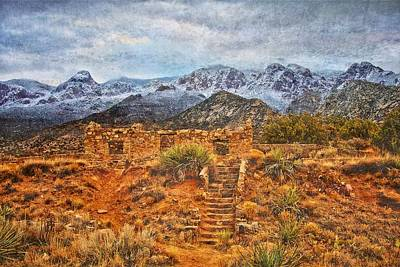Photograph - Stairway To The Sandias by Flying Z Photography by Zayne Diamond