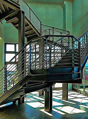Photograph - Stairway To Where by Dorothy Berry-Lound