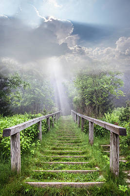 Photograph - Stairway Up To Heaven by Debra and Dave Vanderlaan