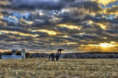 Photograph - Stairways To Heaven Winter Sunrise The Iron Horse Art by Reid Callaway