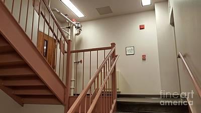 James Madison University Photograph - Stairwell At Zane Showker Hall by Ben Schumin