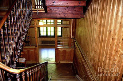 Photograph - Stairwell by Michelle Meenawong