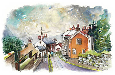 North Sea Painting - Staithes 01 by Miki De Goodaboom
