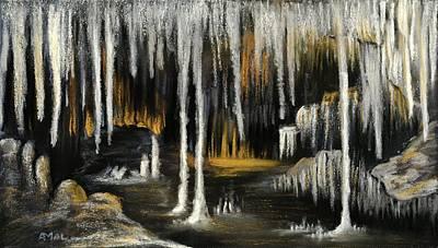 Pastel - Stalactite Cave by Anastasiya Malakhova