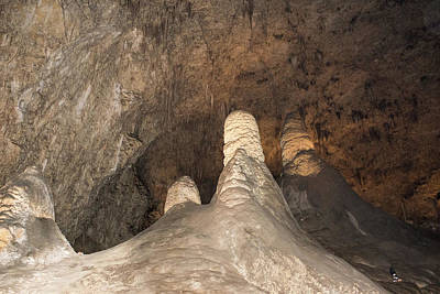 Photograph - Stalagmite View 2 by James Gay