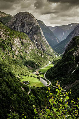 Photograph - Stalheim Valley by KG Thienemann