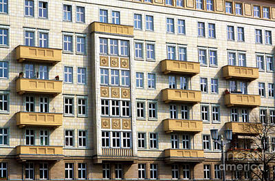 Photograph - Stalinist Building by John Rizzuto