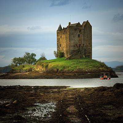 Photograph - Stalker Castle by Alex Saunders