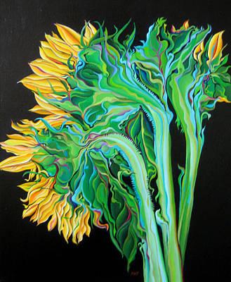 Painting - Stalking Sunshine by Amy Ferrari