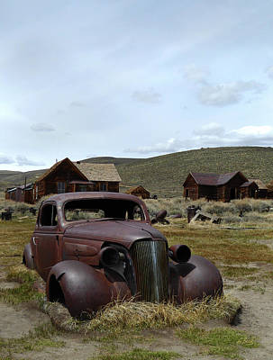 Stalled In Bodie Art Print