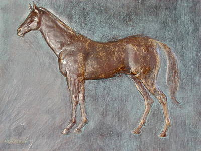 Sculpture - Stallion by Deborah Dendler