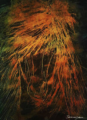 Beastie Boys - Stallion Metallic Gold by Sheila Sauvageau