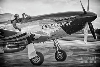 Photograph - Stallion P-51 Crazy Horse by Rene Triay Photography