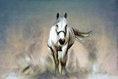 Digital Art - Stallion by Pennie McCracken