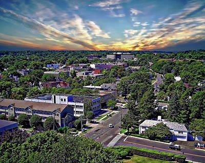 Photograph - Stamford Sunrise by Anthony Dezenzio