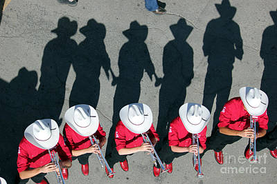 Photograph - Stampede Brass Band by Wilko Van de Kamp